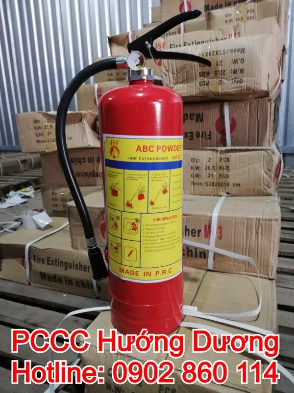 Bình chữa cháy bột ABC 4kg mfz4