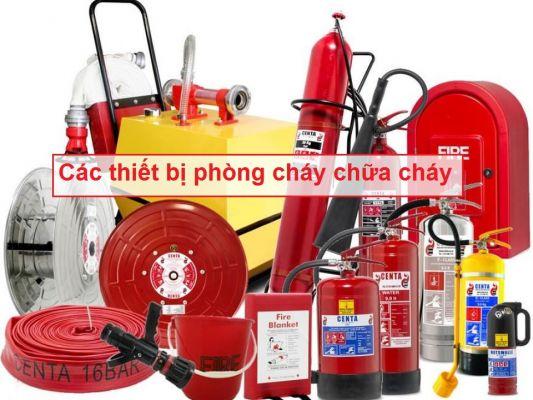 Các thiết bị phòng cháy chữa cháy