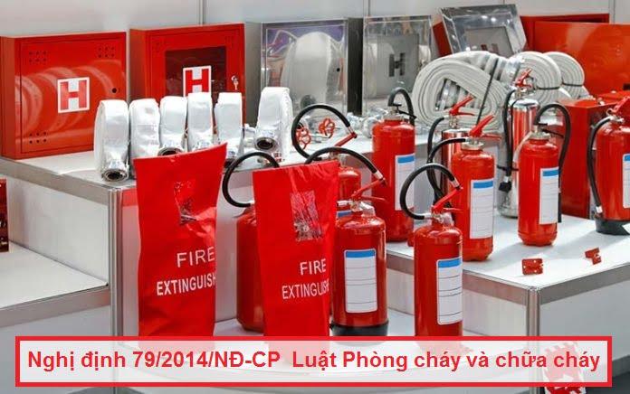 Nghị định 79/2014/NĐ-CP Luật Phòng cháy và chữa cháy