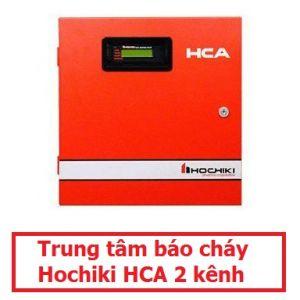 Trung tâm báo cháy Hochiki HCA 2 kênh. Không Acquy