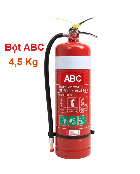 Bình chữa cháy bột ABC 4,5kg