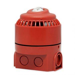 Còi báo động địa chỉ và đèn hiệu điện tử Horing TBR9-BSR/BSW