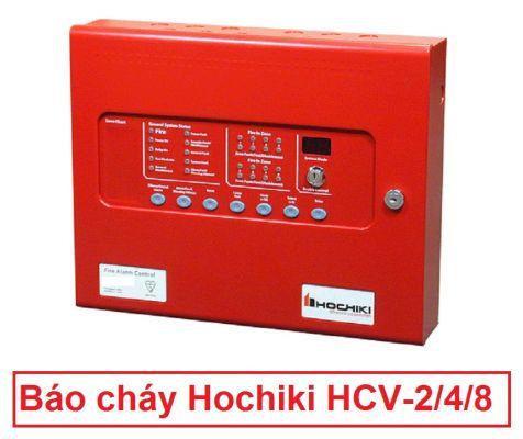 Tủ trung tâm báo cháy Hochiki HCV-2/4/8