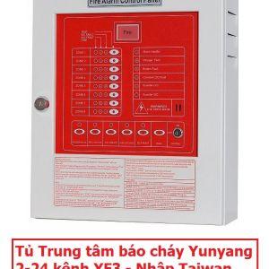 Tủ Trung tâm báo cháy Yunyang 2-24 kênh YF3