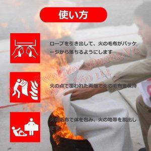 chăn chữa cháy phòng cháy pccc