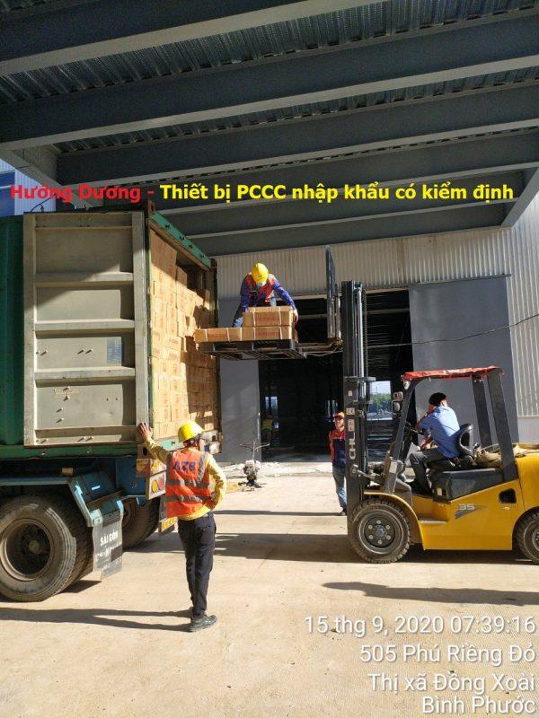 Hướng Dương - Thiết bị PCCC nhập khẩu có kiểm định
